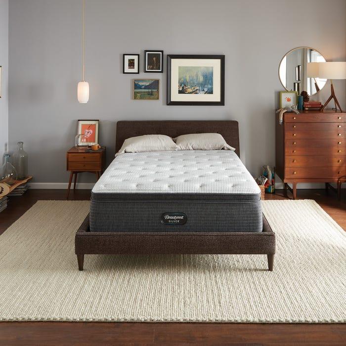 【現貨】2019年新款 Twin XL席夢思銀標 麗蒂亞BRS900-C獨立筒舒適層床墊 (9號)Beautyrest Silver-BRS900-C Pillow Top