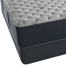 King Simmons Beautyrest Silver Lydia Manor III Extra Firm 13 Inch Mattress