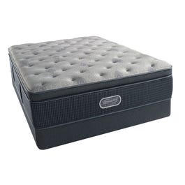 Queen Simmons Beautyrest Silver Lydia Manor Iii Plush