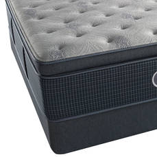 Twin Simmons Beautyrest Silver Lydia Manor III Plush Pillow Top Mattress