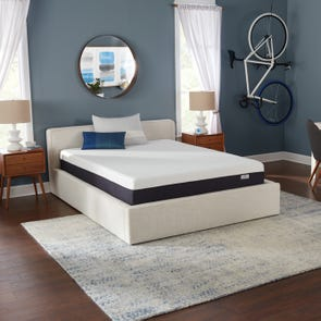 King Simmons Beautysleep 10 Inch Bed In A Box Lux Firm Mattress