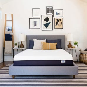 Twin Simmons Beautysleep 8 Inch Bed in A Box Lux Firm Mattress