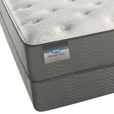 Queen Simmons BeautySleep Sparkle Sky III Plush Mattress
