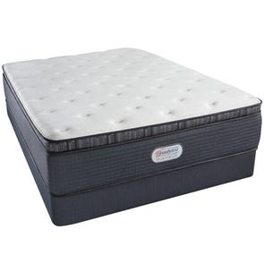 Queen Simmons Beautyrest Platinum Spring Grove Plush Pillow Top 15 Inch Mattress