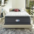 King Simmons Beautyrest Platinum Haven Pines Plush Pillow Top 16.5 Inch Mattress