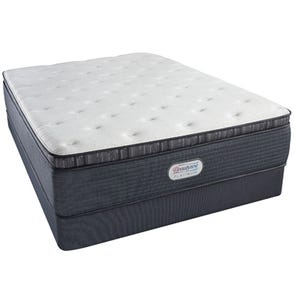 King Simmons Beautyrest Platinum Spring Grove Luxury Firm Pillow Top 15 Inch Mattress