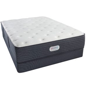 "Twin Simmons Beautyrest Platinum Phillipsburg III Plush Twin Mattress Only OVML021923 - Clearance Model ""As Is"""