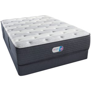 Queen Simmons Beautyrest Platinum Haven Pines Plush 14.8 Inch Mattress