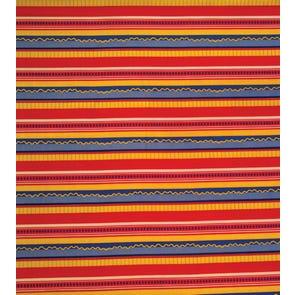 SIS Custom Fabrics Panel Curtains in Crooked Stripe