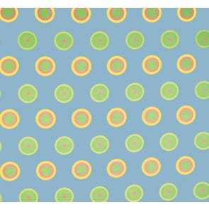 SIS Custom Fabric Full Futon Cover in Candy Dot