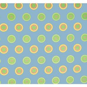 SIS Custom Fabrics Panel Curtains in Candy Dot