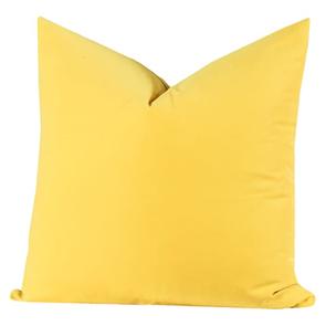 SIS Covers Crayola 16 x 16 Pillow in Laser Lemon