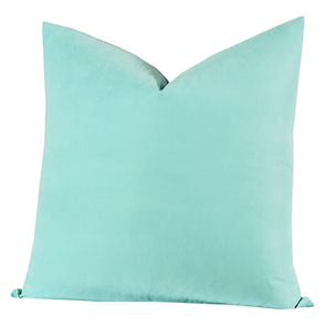 SIS Covers Crayola 16 x 16 Pillow in Robin's Egg Blue