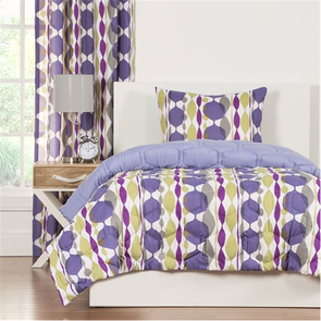 SIS Covers Crayola Be Jewled Twin Comforter Set