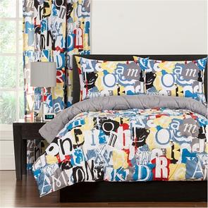SIS Covers Crayola Dream On Full/Queen Comforter Set