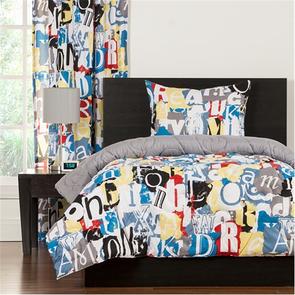 SIS Covers Crayola Dream On Twin Comforter Set