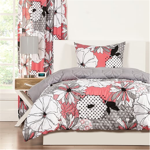 SIS Covers Crayola Flower Patch Twin Comforter Set