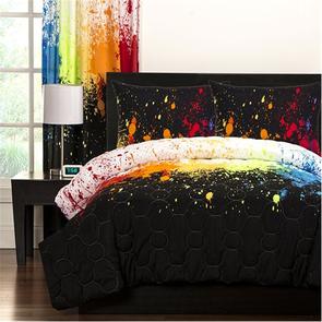SIS Covers Crayola Full/Queen Comforter Set in Cosmic Burst