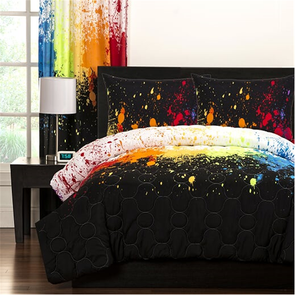 SIS Covers Crayola Full/Queen Comforter Set in Cosmic Burst
