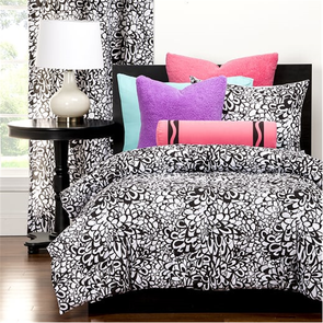 SIS Covers Crayola Graphic Blooms Twin Comforter Set