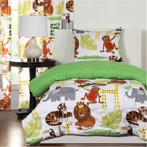 SIS Covers Crayola Jungle Love Twin Comforter Set