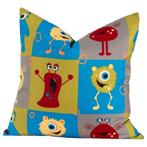 SIS Covers Crayola Monster Friends 16 x 16 Pillow
