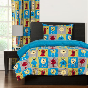 SIS Covers Crayola Monster Friends Twin Comforter Set