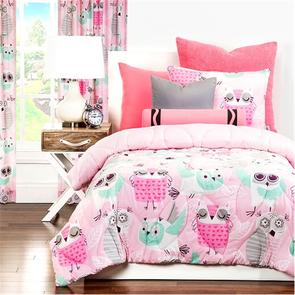SIS Covers Crayola Night Owl Twin Comforter Set