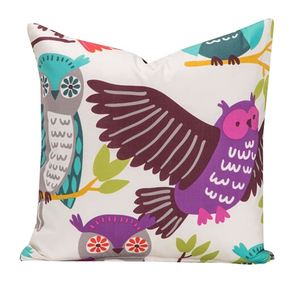 SIS Covers Crayola Owl Always Love You 20 x 20 Pillow