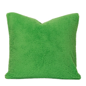 SIS Covers Crayola Playful Plush 16 x 16 Pillow in Jungle Green