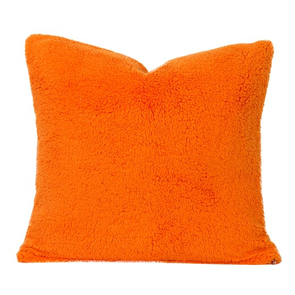 SIS Covers Crayola Playful Plush 16 x 16 Pillow in Outrageous Orange