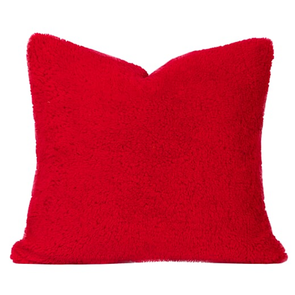 SIS Covers Crayola Playful Plush 16 x 16 Pillow in Scarlet