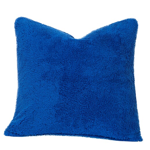 SIS Covers Crayola Playful Plush 20 x 20 Pillow in Blue Berry Blue