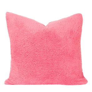 SIS Covers Crayola Playful Plush 20 x 20 Pillow in Cotton Candy