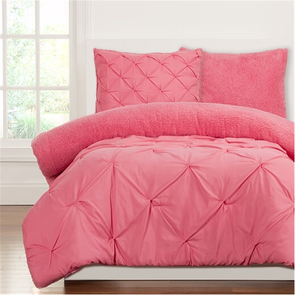 SIS Covers Crayola Playful Plush Twin Comforter Set in Cotton Candy