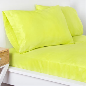 SIS Covers Crayola Queen Microfiber Sheet Set in Granny Smith Apple