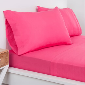 SIS Covers Crayola Queen Microfiber Sheet Set in Hot Magenta