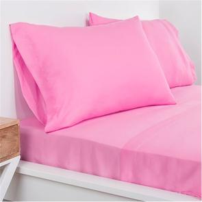 SIS Covers Crayola Queen Microfiber Sheet Set in Pink Flamingo