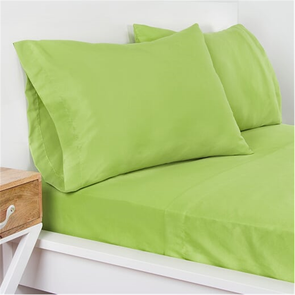 SIS Covers Crayola Queen Microfiber Sheet Set in Spring Green