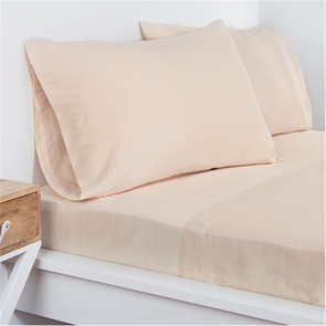 SIS Covers Crayola Queen Microfiber Sheet Set in Tan