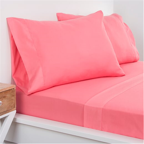 SIS Covers Crayola Queen Size Microfiber Sheet Set in Cotton Candy