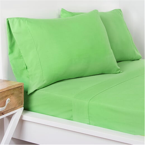 SIS Covers Crayola Queen Size Microfiber Sheet Set in Jungle Green
