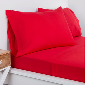SIS Covers Crayola Queen Size Microfiber Sheet Set in Scarlet