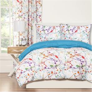 SIS Covers Crayola Splat Full/Queen Comforter Set