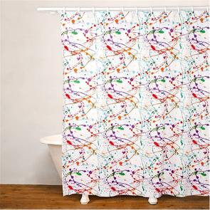 SIS Covers Crayola Splat Shower Curtain