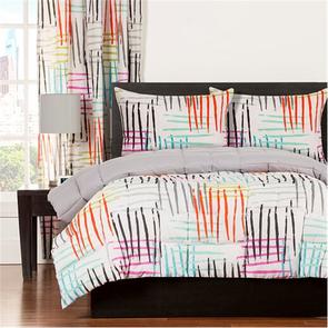 SIS Covers Crayola Stroke of Genius Full/Queen Comforter Set