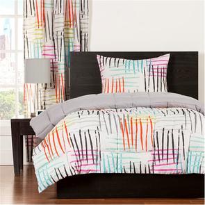 SIS Covers Crayola Stroke of Genius Twin Comforter Set