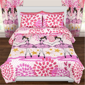 SIS Covers Crayola Twinkle Toes Full/Queen Comforter Set