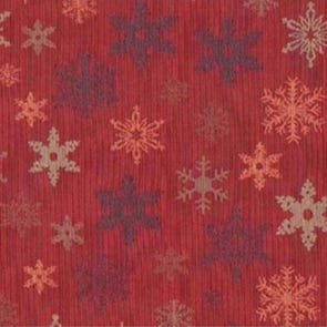 SIS Custom Fabric Full Futon Cover in Snowflake