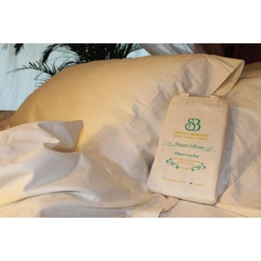 Sleep & Beyond Organic Cotton Pillowcase Pair